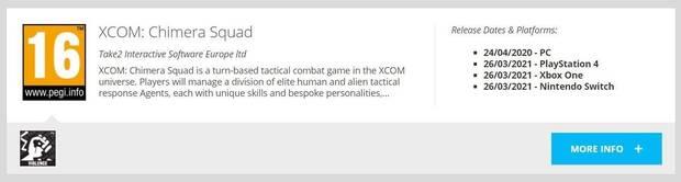 XCOM: Chimera Squad podr