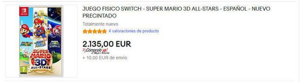 Super Mario 3D All-Stars ebay
