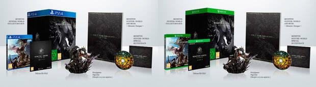 Monster Hunter World Edición Coleccionista