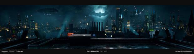 El supuesto arte filtrado de un nuevo juego de DC Comics era falso Imagen 2