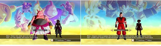 Razas y creación Dragon Ball Xenoverse - Guía