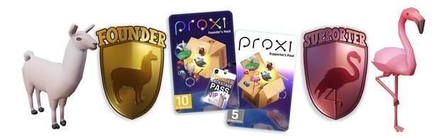 Paquetes Founder y Starter de Proxi, lo nuevo de Will Wright.