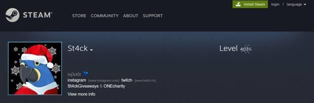 Un príncipe qatarí gasta 300.000 dólares para llegar al nivel 4000 en Steam Imagen 2