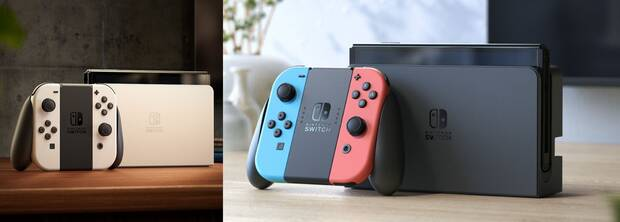 Nintendo Switch OLED tiendas