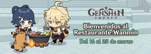 Evento web Bienvenidos al Restaurante Wanmin