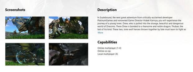 El cancelado Scalebound reaparece en Xbox One Store por error Imagen 3