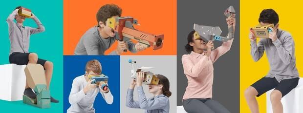 Resultado de imagen para Nintendo Labo Toy-Con 04: VR Kit