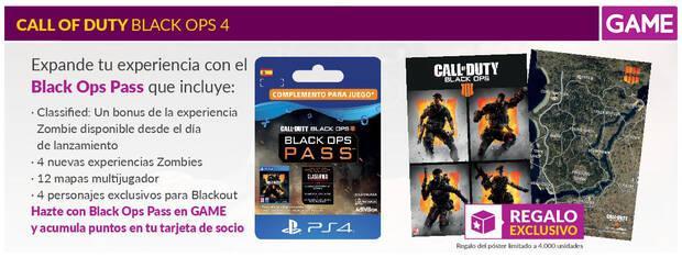 GAME detalla sus productos, ediciones y merchandising de Black Ops 4 Imagen 4