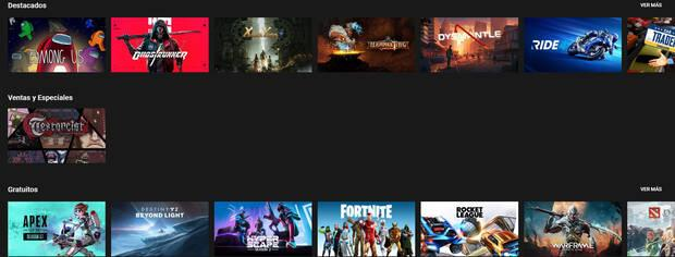 Some of the games available on GeForce Now