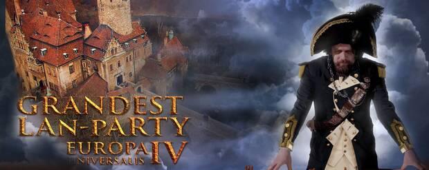 Celebran una LAN temática de Europa Universalis IV en un castillo Imagen 2