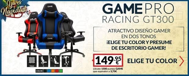 Silla gaming de oferta en GAME.