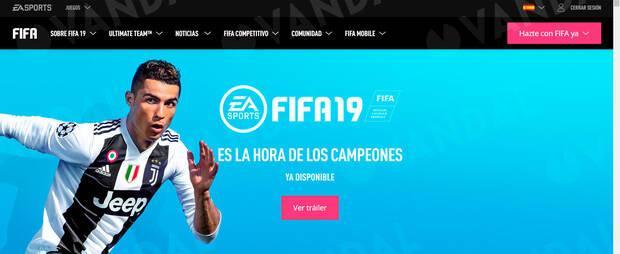 EA Sports elimina silenciosamente a Cristiano Ronaldo de la web de FIFA 19 Imagen 2
