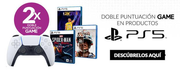 Double points on PS5 games in GAME.