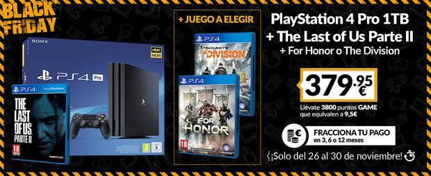PS4 Pro de 1TB en promoci