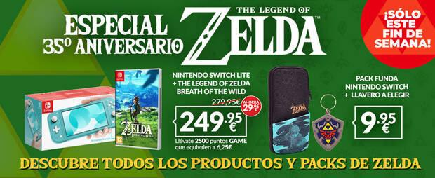 The Legend of Zelda offers in GAME.