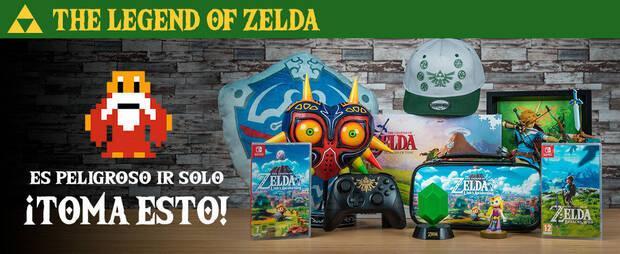 Merchandising de The Legend of Zelda en GAME.