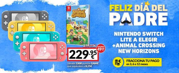 Nintendo Switch Lite offer for the D
