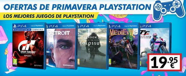 Ofertas en juegos de PS4 por la campa
