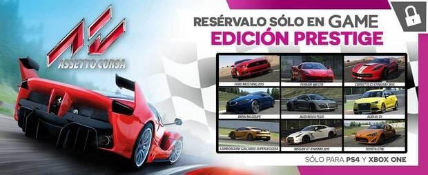 GAME detalla su edición exclusiva de Assetto Corsa para PlayStation 4 y Xbox One Imagen 2