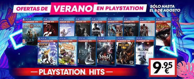 Ventajas en juegos PS Hits en GAME.
