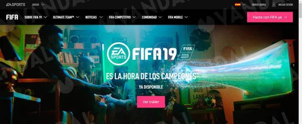 EA Sports elimina silenciosamente a Cristiano Ronaldo de la web de FIFA 19 Imagen 3