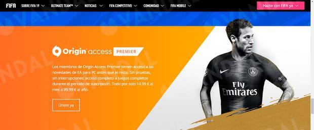 EA Sports elimina silenciosamente a Cristiano Ronaldo de la web de FIFA 19 Imagen 5