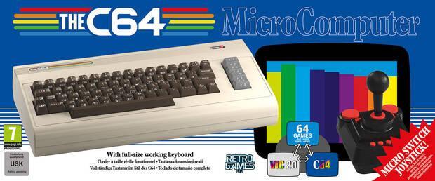 El Commodore 64 se relanzará el 5 de diciembre con 64 juegos incluidos Imagen 2