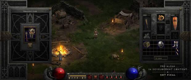 Captura de Diablo 2: Resurrected.