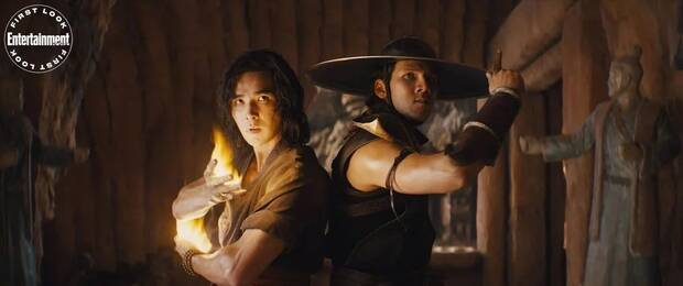 Liu Kang and Kung Lao in the new movie