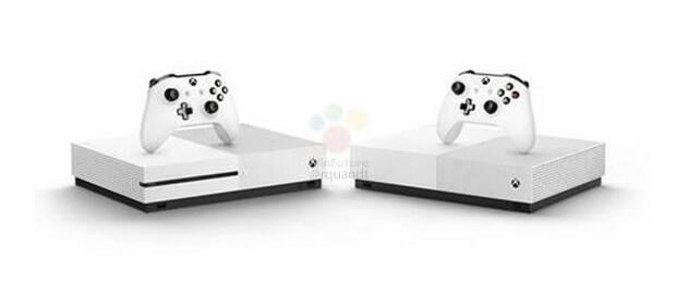 Se filtra Xbox One S All Digital, el modelo sin lector óptico por 229 euros Imagen 2