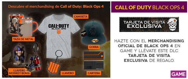 GAME detalla sus productos, ediciones y merchandising de Black Ops 4 Imagen 3