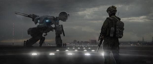 El director del film de Metal Gear Solid celebra su aniversario con artes inéditos Imagen 2