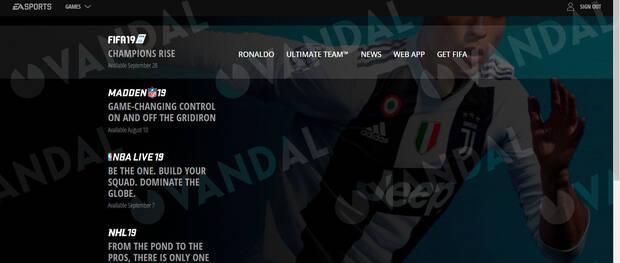 EA Sports elimina silenciosamente a Cristiano Ronaldo de la web de FIFA 19 Imagen 8