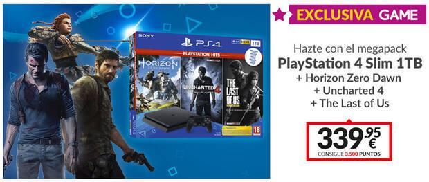 GAME presenta su Mega Pack exclusivo de PlayStation 4 con grandes éxitos Imagen 2