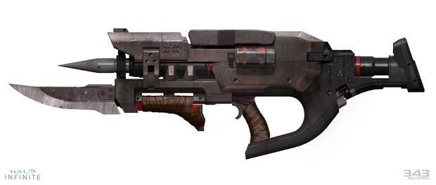 Halo Infinite Outcast weapon
