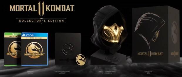 Así es la edición coleccionista de Mortal Kombat 11; anunciada su beta Imagen 2