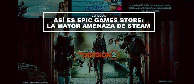 Así es Epic Games Store: La mayor amenaza de Steam