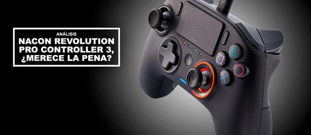 Análisis Nacon Revolution Pro Controller 3, ¿merece la pena?