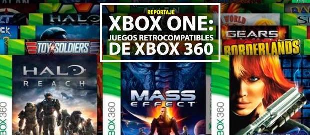 Listado de Juegos retrocompatibles y con mejoras con XBOX One (Actualizado 2019)