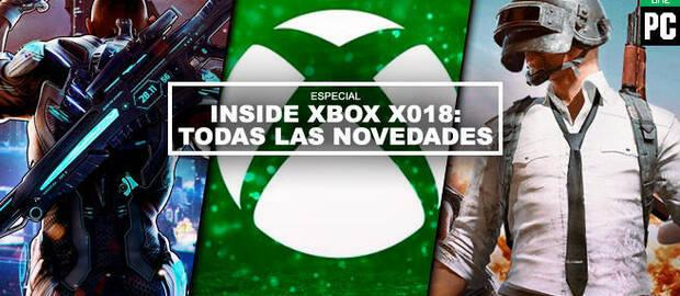 Inside Xbox X018: Todas las novedades