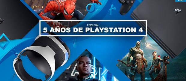 5 años de PlayStation 4