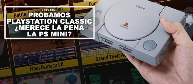 Probamos PlayStation Classic ¿Merece la pena PS Mini?
