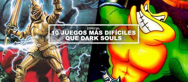 10 juegos más difíciles que Dark Souls