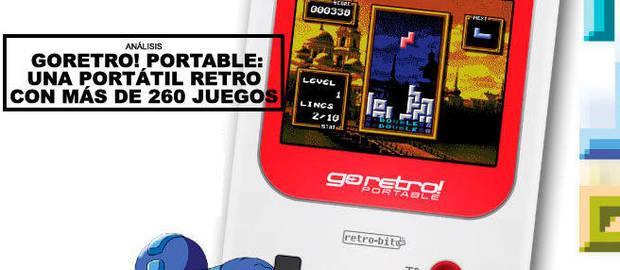 Análisis Go Retro! Portable: Una portátil retro con más de 260 juegos