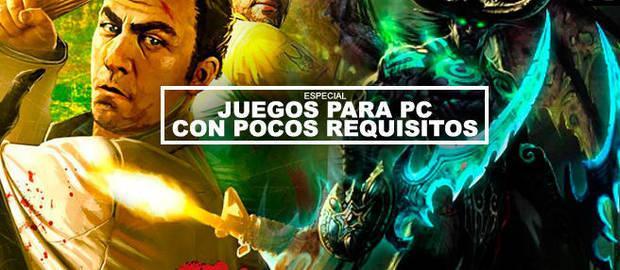 Los mejores juegos con pocos requisitos para PC (2020)