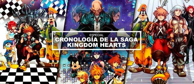 Kingdom Hearts: ¿Cuál es el orden cronológico REAL de la saga?