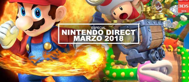 Nintendo Direct marzo 2018