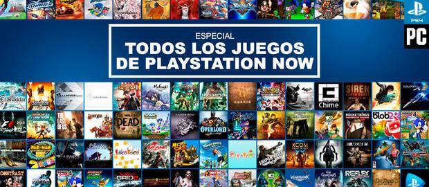 Catálogo PlayStation Now: TODOS los juegos disponibles de
