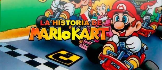 La historia de Mario Kart