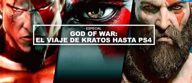 God of War: El viaje de Kratos hasta PS4